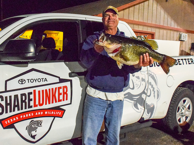 Texas-Rigged: Lake Fork Double-Digit Bass Run Continues