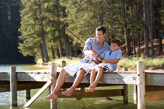 WV Family Fishing Feature Image
