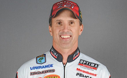 2016 Bassmaster champion Edwin Evers