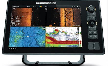 Humminbird's SOLIX 10 offers anlgers underwater views in a multi-screen format.  Having