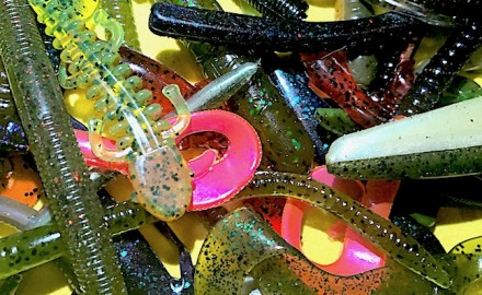 bass soft plastics