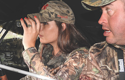 Ground blinds mask your movements. (Photo by John Geiger)