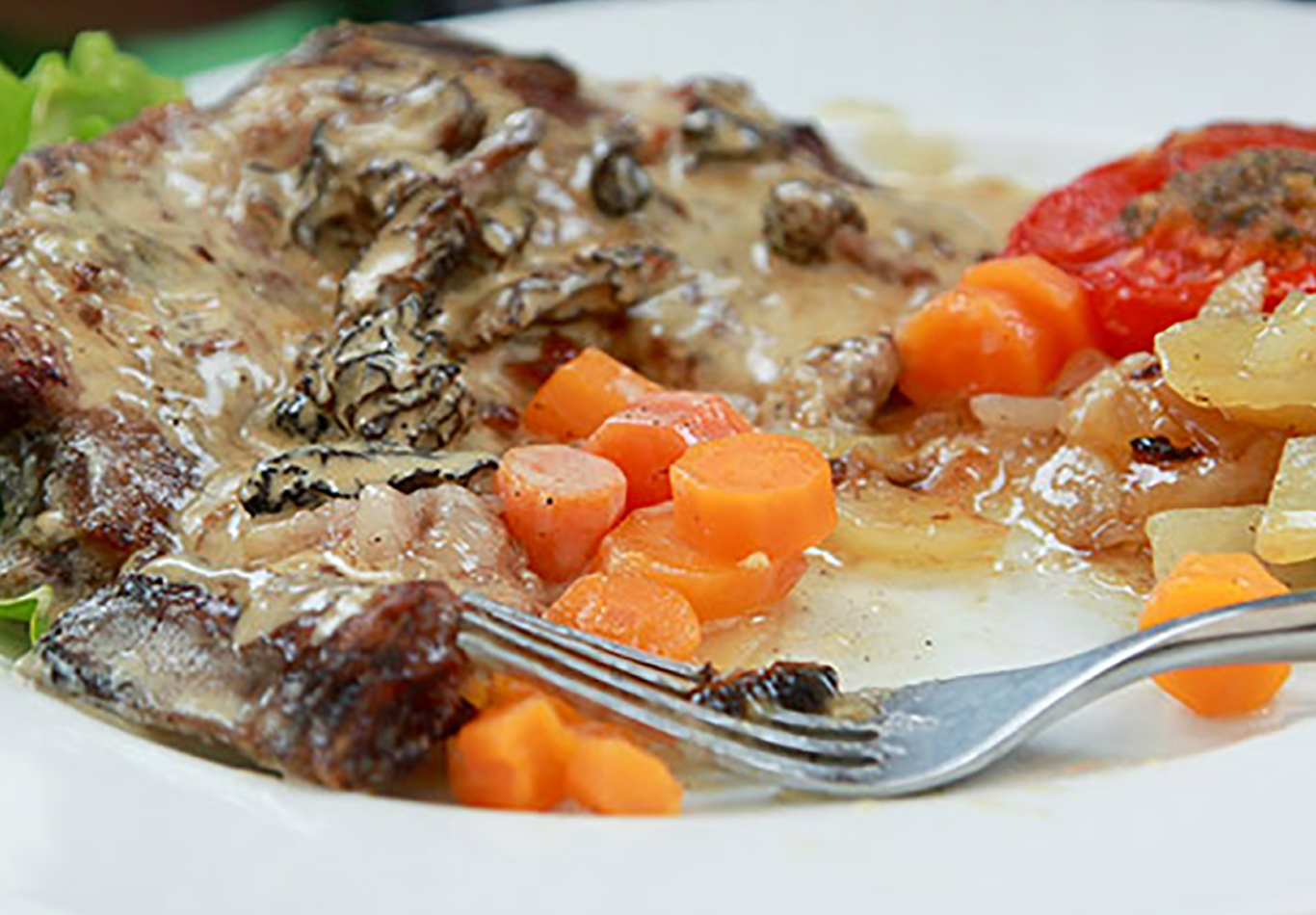 Morel Mushroom Steak Sauce Recipe (Photo courtesy of Raschell Rule)