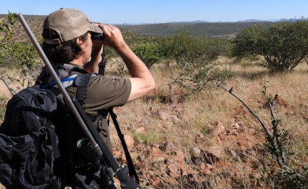 John Geiger went to Africa in 2017 to see how American hunting compares. (Photo courtesy Vista