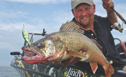 Now is the time when walleyes are in all the places where it seems like fish should be. (Photo by