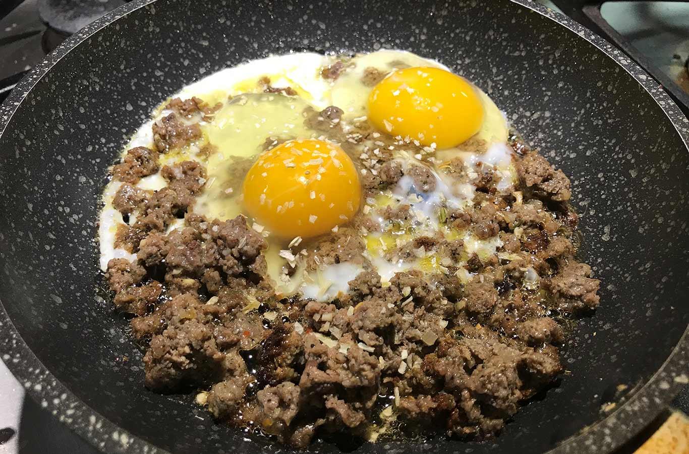 Venison Sausage Egg Scramble Recipe