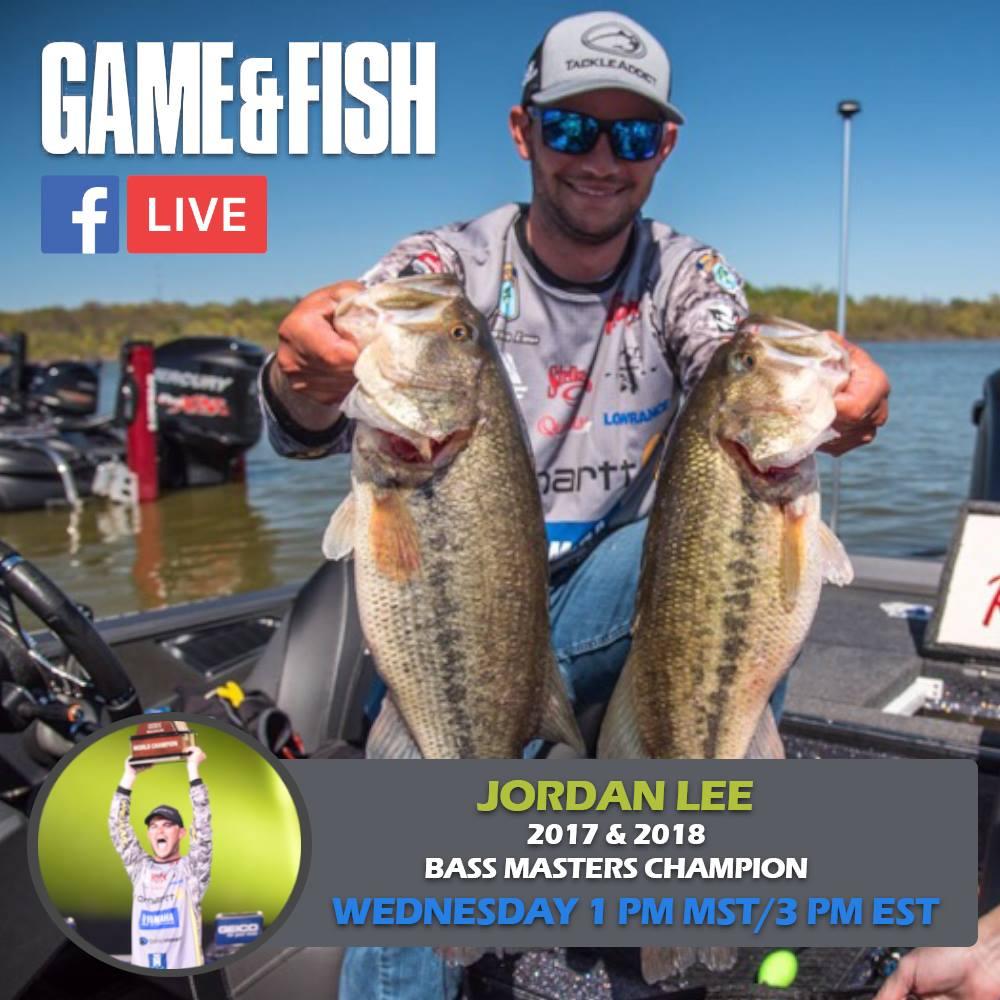 Game fish exclusive jordan lee facebook live may 9th for Facebook fish game