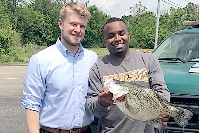 Possible World-Record Crappie Caught in Tennessee