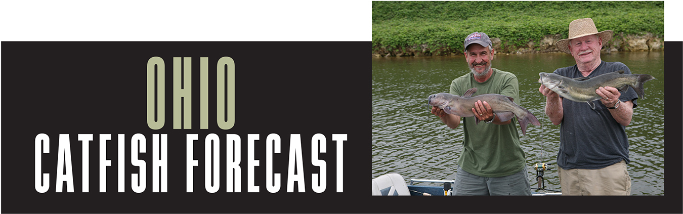 OH Catfish Forecast Banner