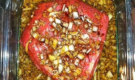 Simple Venison Steak Marinade Recipe