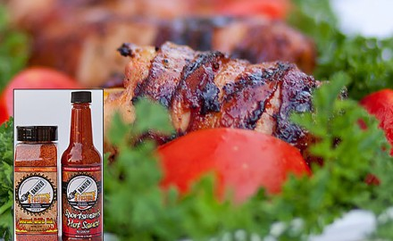 Spicy Bacon-Wrapped Grilled Duck Recipe