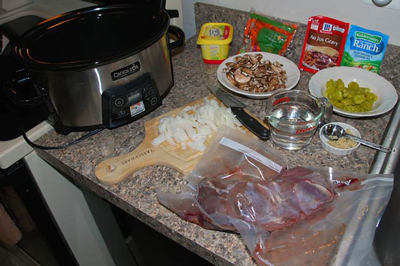 Tangy Crock-Pot Venison Roast Recipe