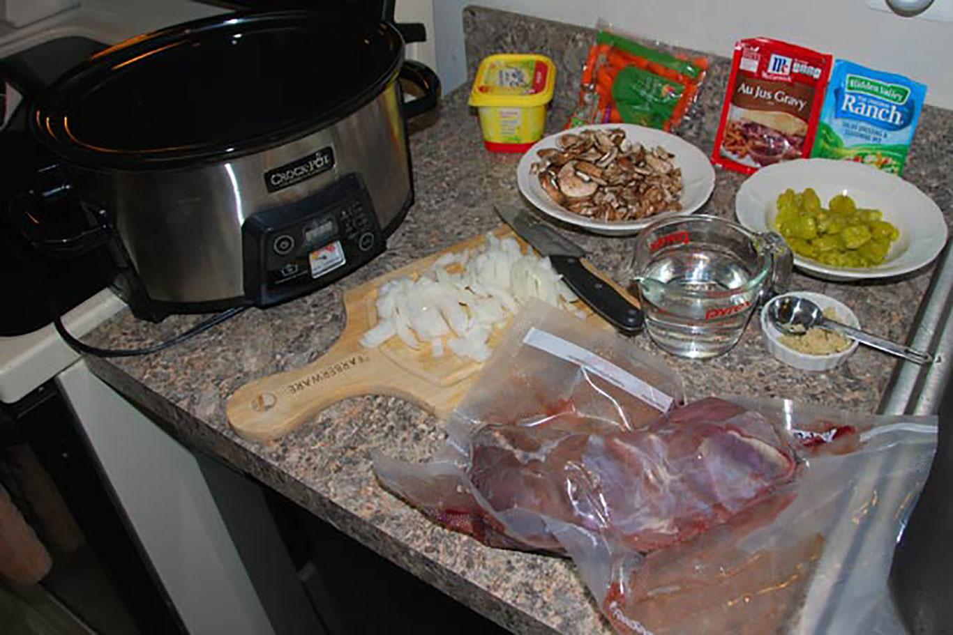 Tangy Crock-Pot Venison Roast Recipe