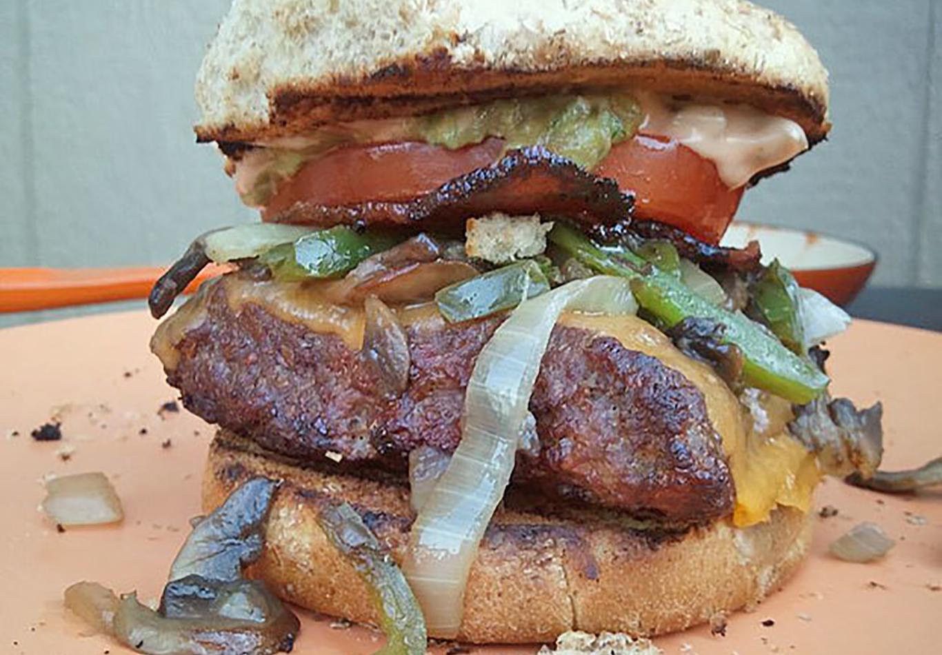 Ultimate Square Venison Burger Recipe