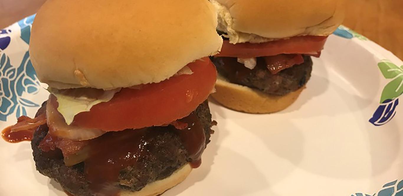 Venison Bacon-Cheese Sliders Recipe