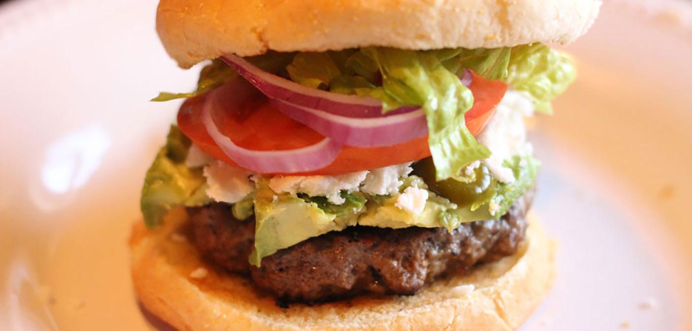 Venison Fiesta Burger Recipe