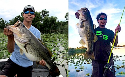 Florida's TrophyCatch program celebrates the first two Hall-of-Fame largemouth bass catches on Lake