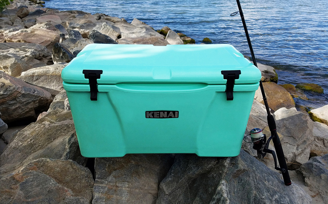 KENAI 45 rotomolded cooler by Grizzly Coolers