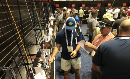ICAST 2018's Best of Show competition attracted more than 950 new products. (Photo by Scott