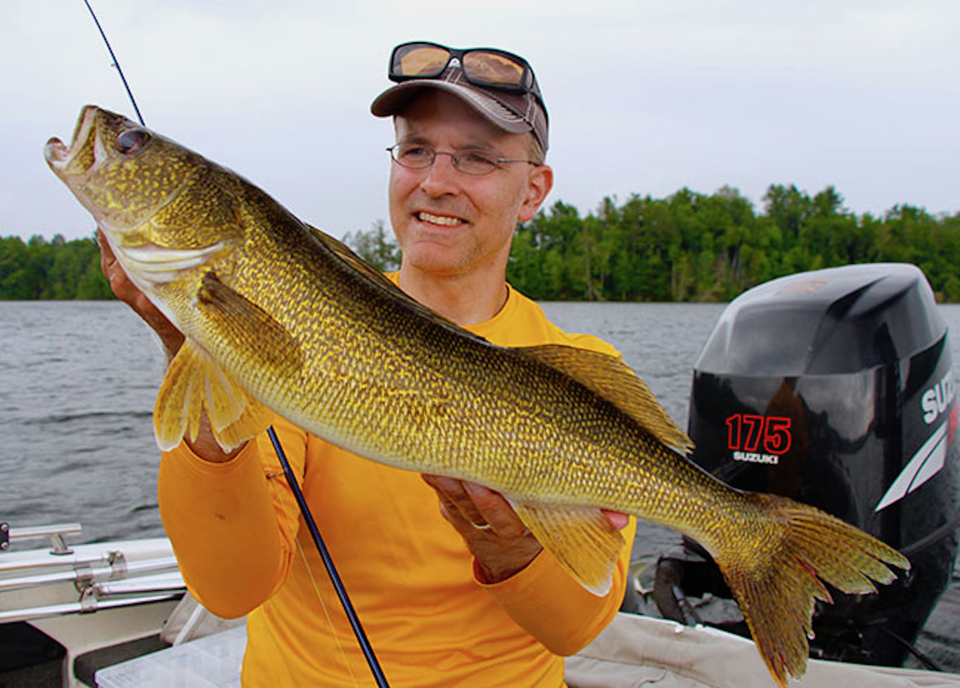 late summer walleye
