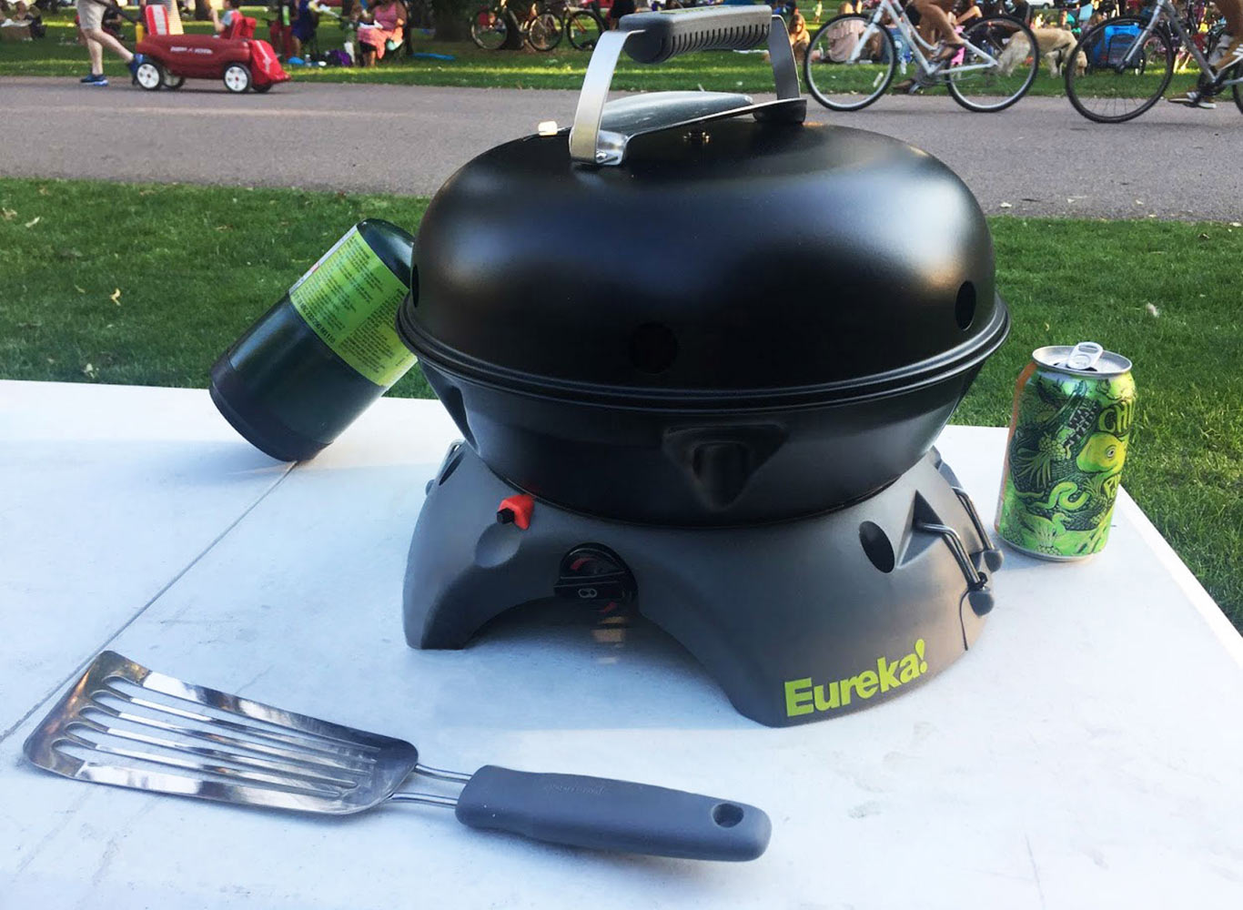 Review of the Portable Eureka! Gonzo Grill 3-in-1 Cook System