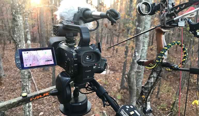 hunting memories on camera