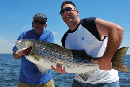 The colder waters of early spring are prime times to use these proven bait rigs for stripers.
