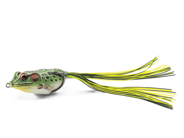 Arguably the most lifelike amphibian on the market, the LIVETARGET Frog collapses on the strike