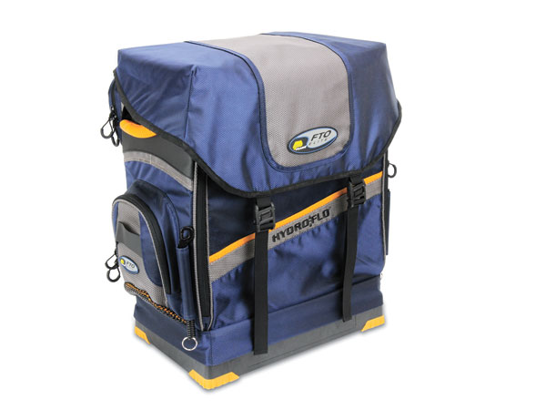 Plano Hydro-Flo tackle storage systems incorporate a 15-degree angled platform for easy access to