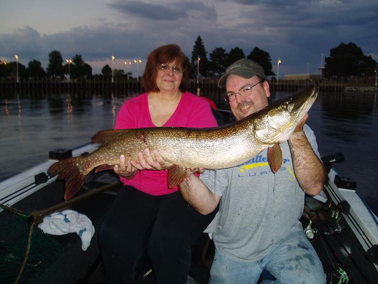 Diane's first BIG pike