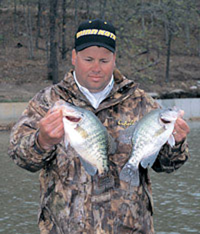 Slow Trolling Crappie
