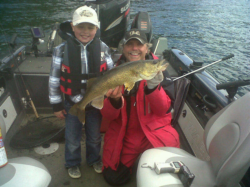 carters walleye