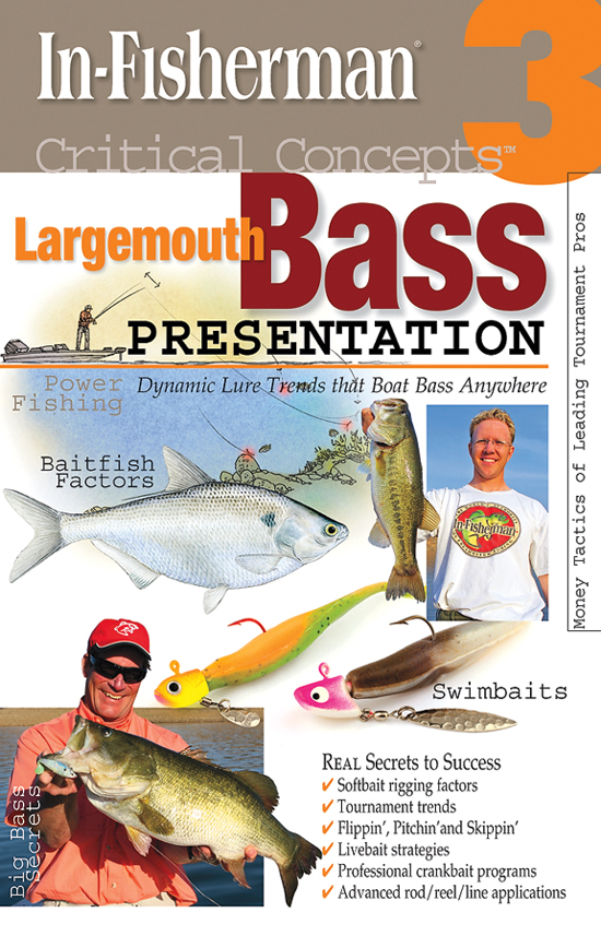 Third volume in the In-Fisherman Critical Concepts Largemouth Bass series of books.