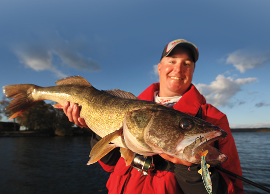 Flashing Magic Walleye Spoons In Practiced Hands