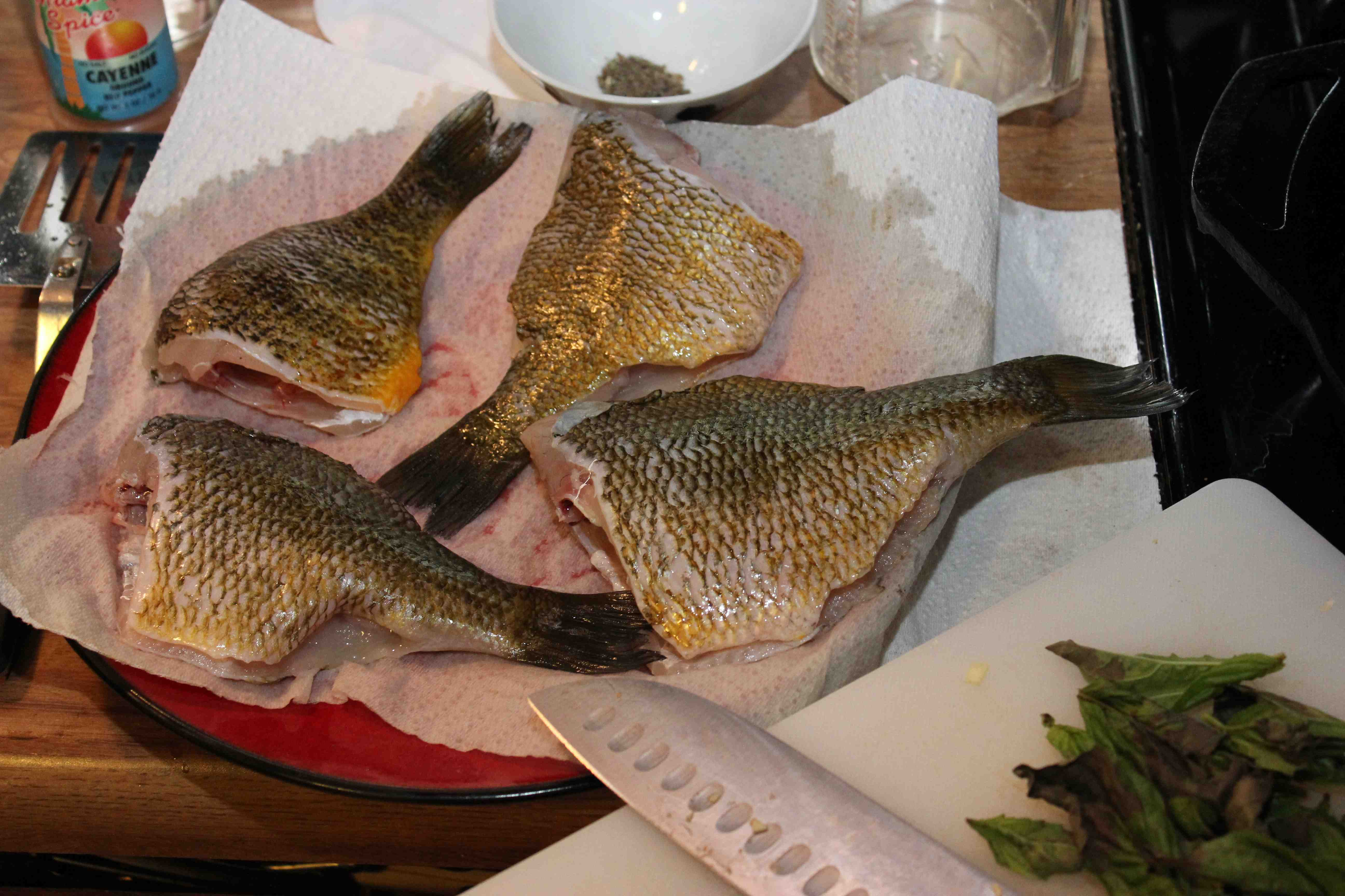 Bluegill: And All Through The House...