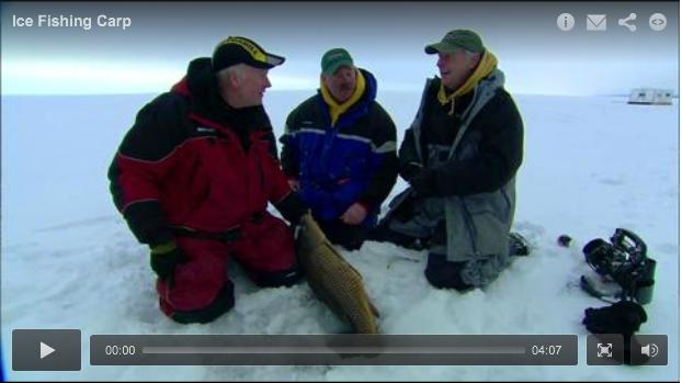 Ice Fishing Carp!