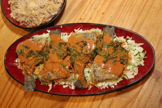 Midnight Bluegill Curry Chef