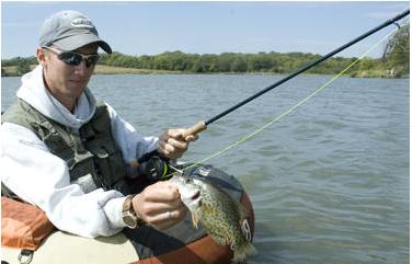 Kansas crappie fishing video