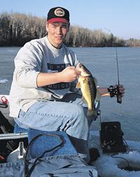 Ice Fishing Bass