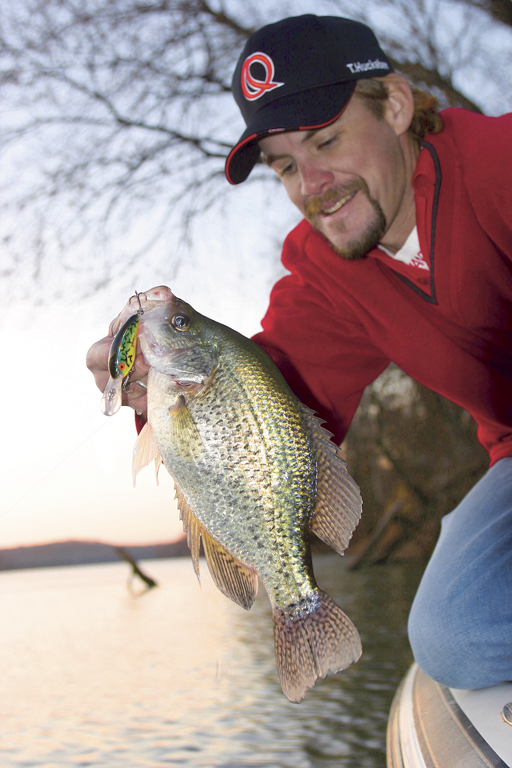 Crappies In Flooded Trees