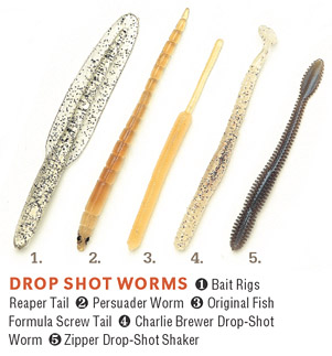 Worms For Smallmouth