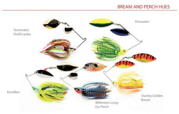Largemouth Spinnerbait Color Scheming