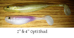 Opti Shad by Lucky Craft and Optimum Bait Company