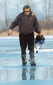 Taking Advantage Of The Late-Season Ice Fishing Bonanza