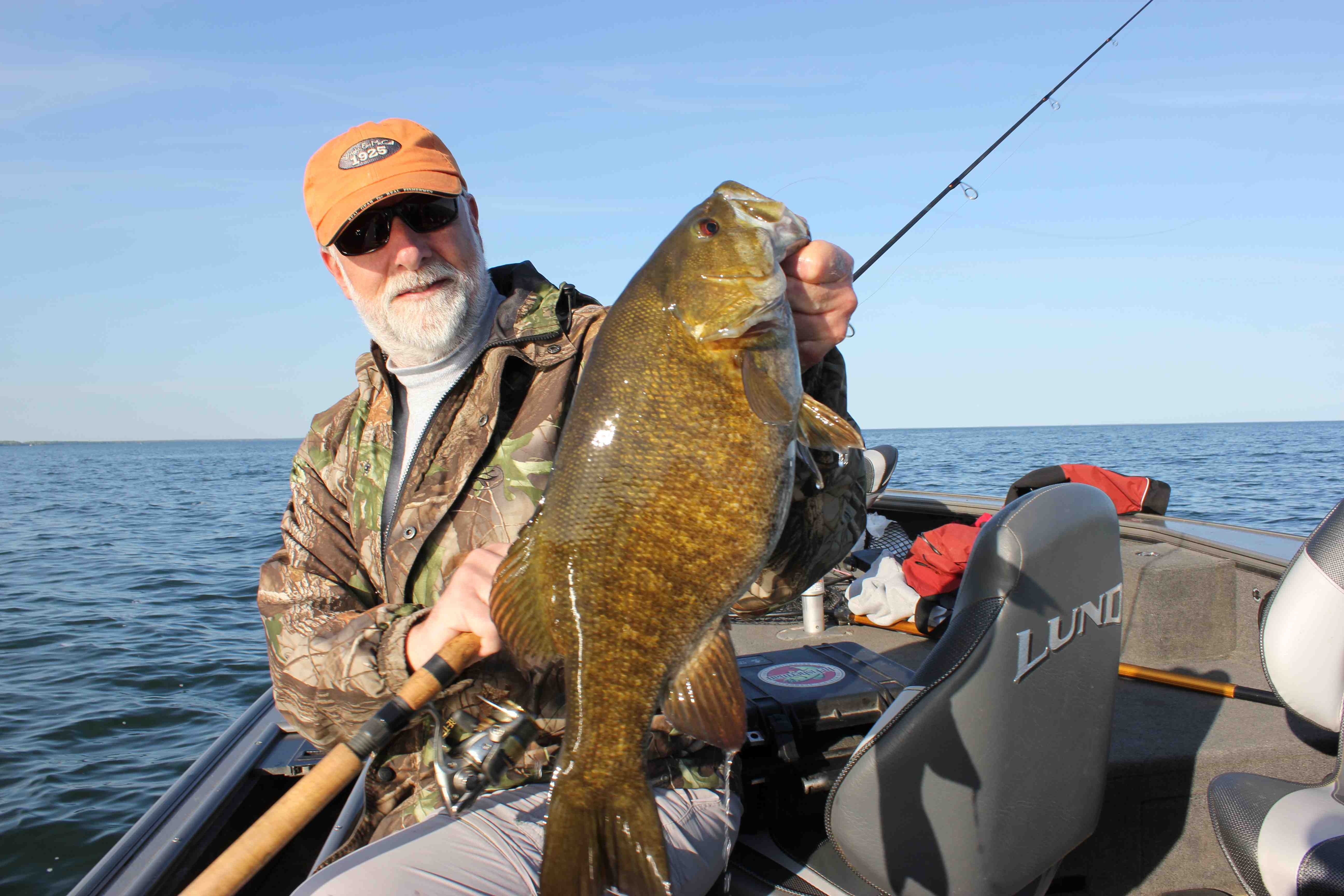 Fall Smallmouths On The Elevator