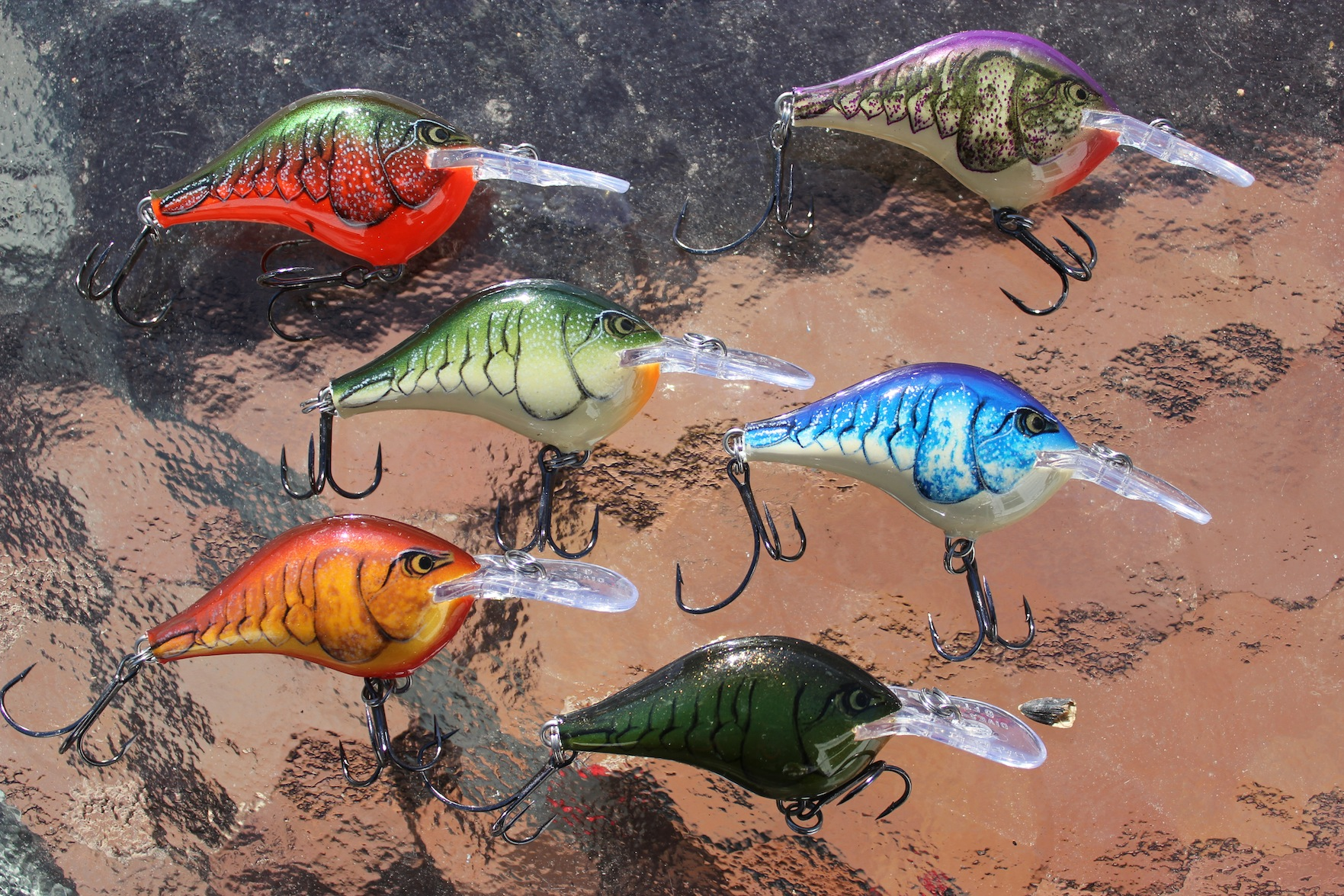 Color Theories For Crawfish Crankbaits