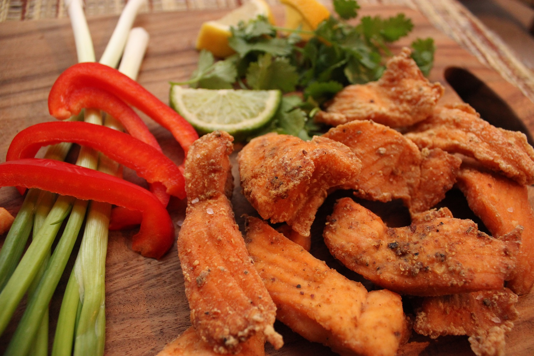 Curried Trout Nuggets Recipe