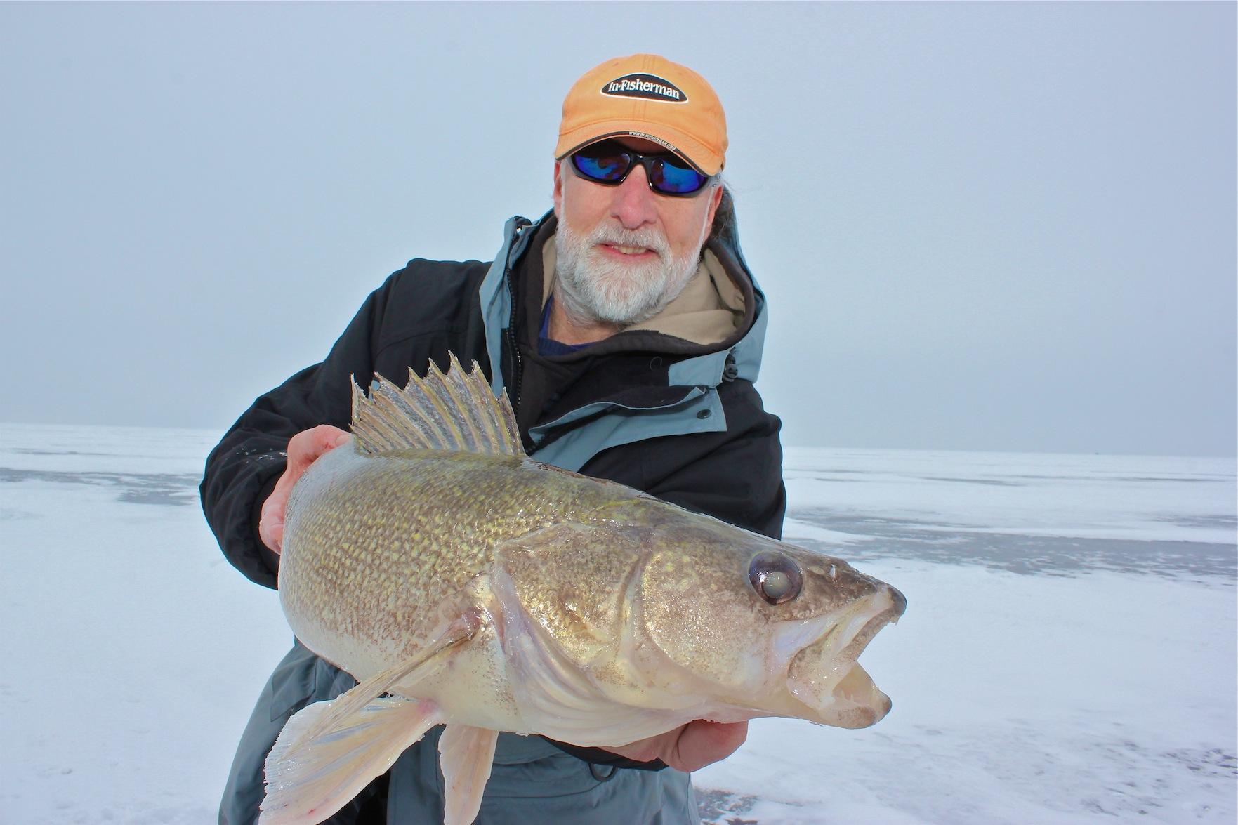 How Far Do Big Winter Walleyes Move?