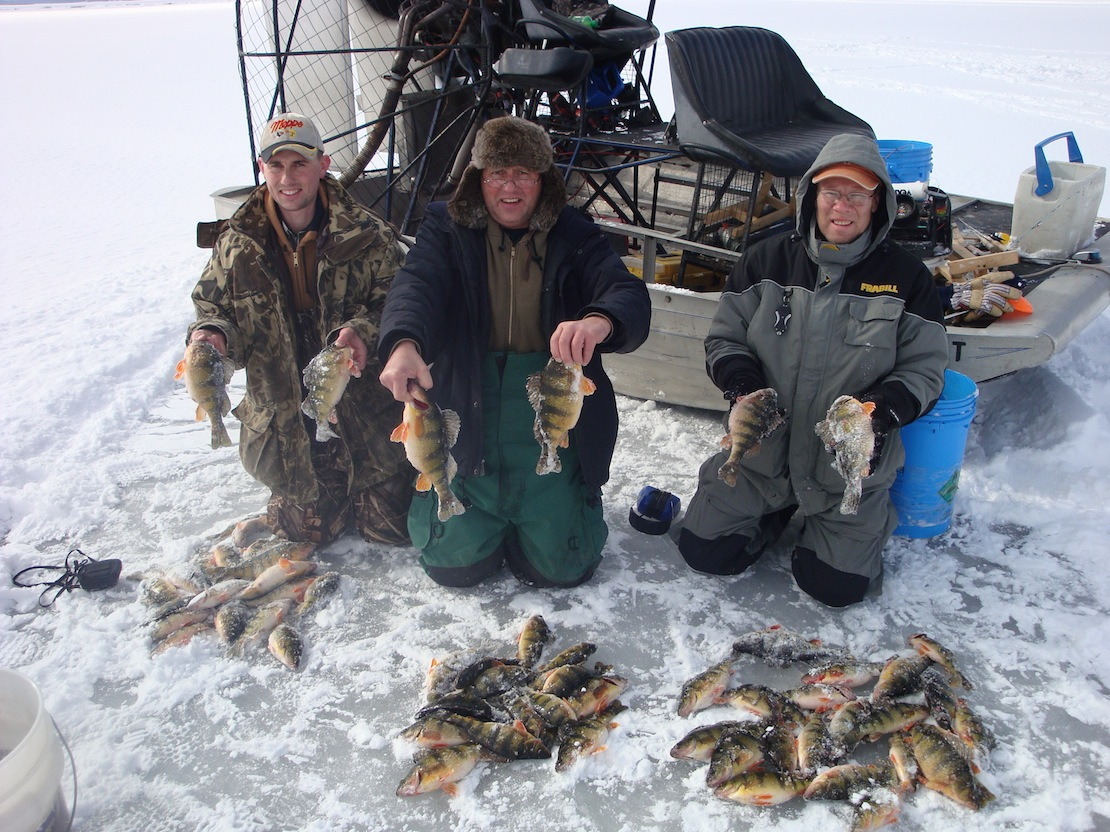 Perch Fishing The Mississippi Backwaters