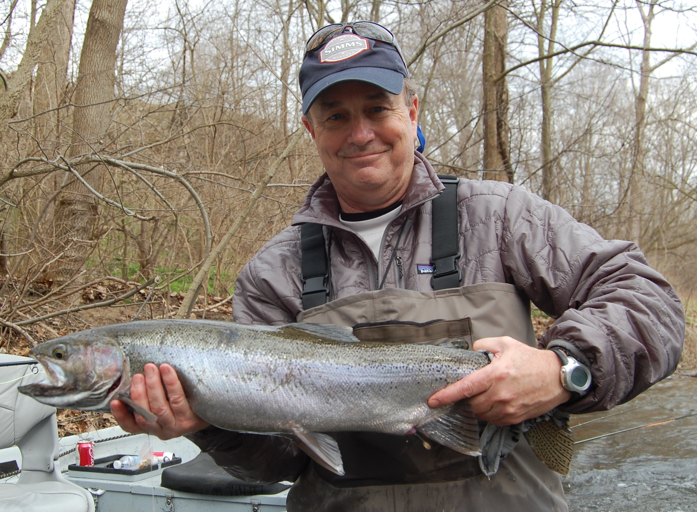 A Great Day Fishing For Steelhead On The Dowagiac